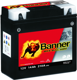 Banner MC-batteri YTX20L-BS 51821 AGM
