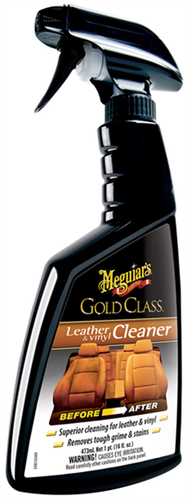 Meguiars Gold Class Leather Cleaner, 473 ml