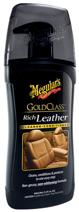 Meguiars Gold Class Rich Leather Cleaner & Conditioner, 414 ml